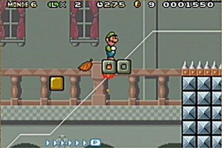 Test Super Mario Advance 4 : Super Mario Bros 3 Gameboy Advance - Screenshot 11