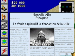 Test Sim City 2000 Gameboy Advance - Screenshot 3