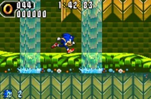 Test Sonic Advance 2 Gameboy Advance - Screenshot 6