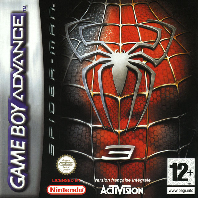 Spider man 3 sur gameboy advance - Jeux de spiderman 3 gratuit ...