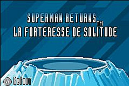 Superman Returns : La Forteresse de Solitude