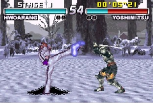 Test Tekken Advance Gameboy Advance - Screenshot 6
