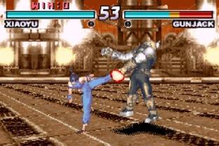 Test Tekken Advance Gameboy Advance - Screenshot 7
