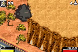 Test Top Gun Firestorm Advance Gameboy Advance - Screenshot 7
