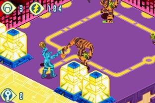 Test Tron 2.0 : Killer App Gameboy Advance - Screenshot 1