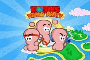 Test Worms World Party Gameboy Advance - Screenshot 6