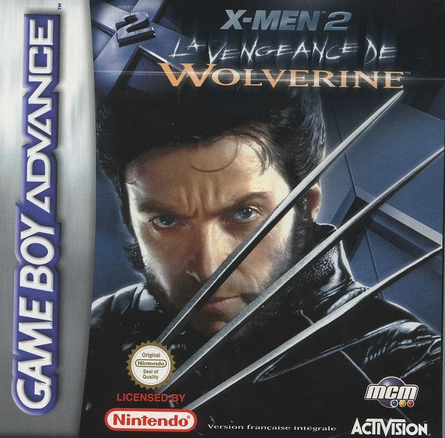 x men 2 la vengeance de wolverine sur gameboy advance. Black Bedroom Furniture Sets. Home Design Ideas
