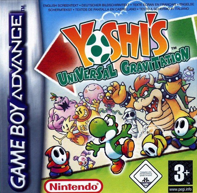 Yoshi S Universal Gravitation Sur Gameboy Advance Jeuxvideo Com