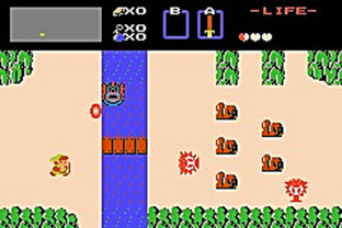 Test The Legend Of Zelda Gameboy Advance - Screenshot 1