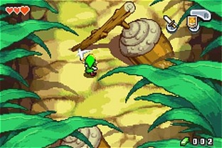Test The Legend Of Zelda : The Minish Cap Gameboy Advance - Screenshot 42