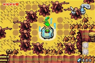 Test The Legend Of Zelda : The Minish Cap Gameboy