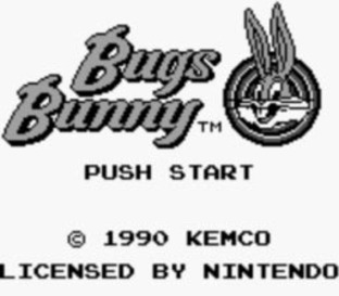 The Bugs Bunny Crazy Castle Gameboy