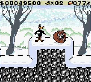 Test Daffy Duck : Un trésor de Canard ! Gameboy - Screenshot 7