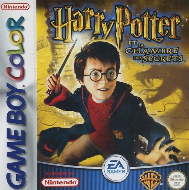 Harry potter et la chambre des secrets sur gameboy for Chambre harry potter