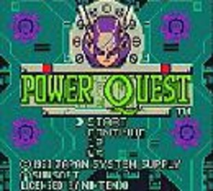 Test Power Quest Gameboy - Screenshot 1