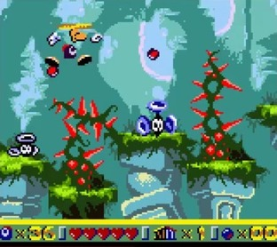 Test Rayman Gameboy - Screenshot 44