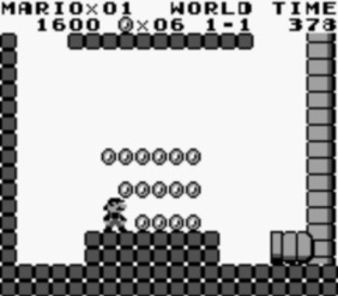 Test Super Mario Land Gameboy - Screenshot 2