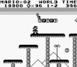Test Super Mario Land Gameboy - Screenshot 3