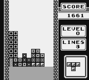 Test Tetris Gameboy - Screenshot 11