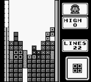 Test Tetris Gameboy - Screenshot 20