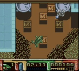 Test Thunderbirds Gameboy - Screenshot 1