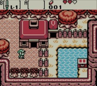 The Legend of Zelda : Oracle of Seasons Gameboy