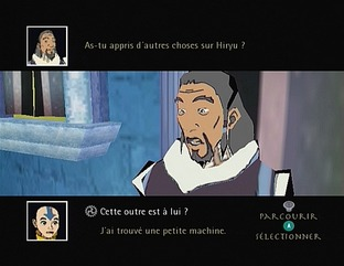 Test Avatar : Le Dernier Maitre De L'Air Gamecube - Screenshot 8