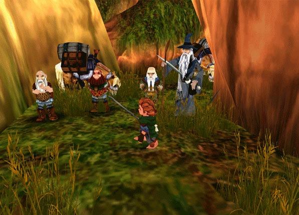 jeuxvideo.com Bilbo le Hobbit - Gamecube Image 28 sur 29