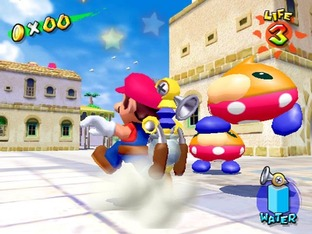 Test Super Mario Sunshine Gamecube - Screenshot 29
