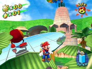 Test Super Mario Sunshine Gamecube - Screenshot 30