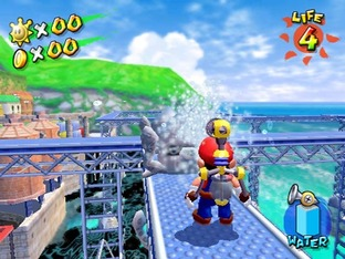 Test Super Mario Sunshine Gamecube - Screenshot 31