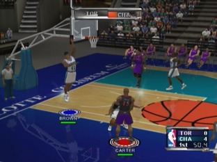 Test NBA Courtside 2002 Gamecube - Screenshot 19