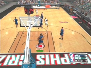 Test NBA Courtside 2002 Gamecube - Screenshot 5