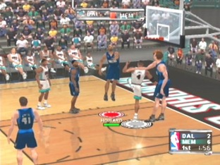 Test NBA Courtside 2002 Gamecube - Screenshot 12