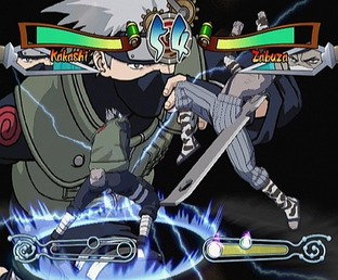 Test Naruto : Clash Of Ninja Gamecube - Screenshot 12