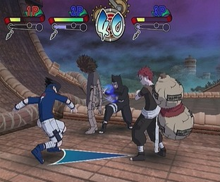 Test Naruto : Clash Of Ninja Gamecube - Screenshot 14