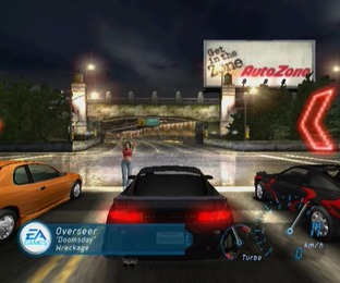 Test Need For Speed Underground Gamecube - Screenshot 9