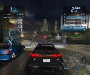 Test Need For Speed Underground Gamecube - Screenshot 10