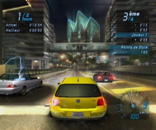 Test Need For Speed Underground Gamecube - Screenshot 14