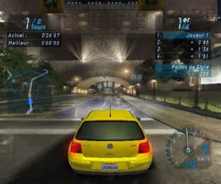 Test Need For Speed Underground Gamecube - Screenshot 15
