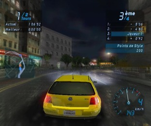 Test Need For Speed Underground Gamecube - Screenshot 16