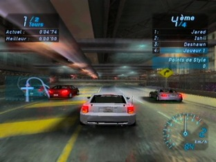 Test Need For Speed Underground Gamecube - Screenshot 1