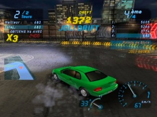 Test Need For Speed Underground Gamecube - Screenshot 2