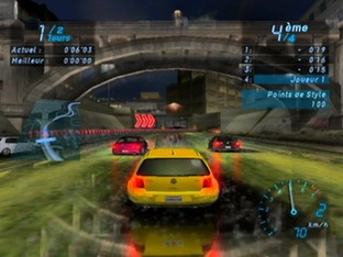 Test Need For Speed Underground Gamecube - Screenshot 8