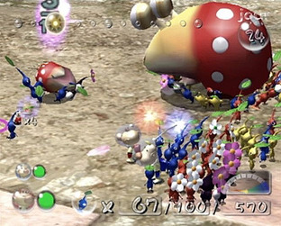 Test Pikmin 2 Gamecube - Screenshot 63
