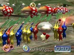 Test Pikmin Gamecube - Screenshot 9