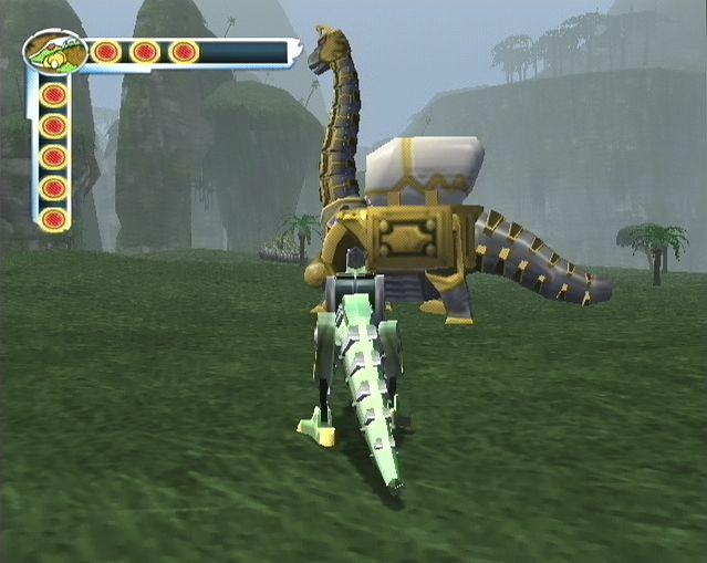jeuxvideo.com Power Rangers : Dino Tonnerre - Gamecube Image 9 sur 30