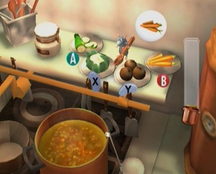 Test Ratatouille Gamecube - Screenshot 2
