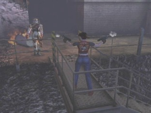 Test Resident Evil : Code Veronica X Gamecube - Screenshot 19