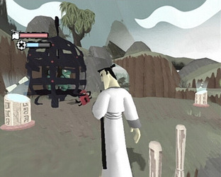 Test Samurai Jack : The Shadow Of Aku Gamecube - Screenshot 1